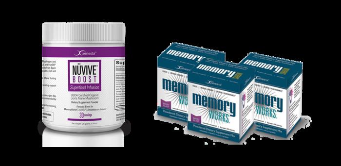 NÜVIVE-BOOST® PLUS 3-Boxes of MemoryWorks® Bundle<